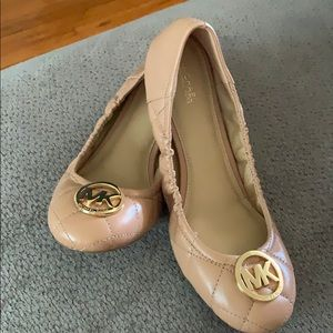 Michael Kors Fulton quilted ballet flats